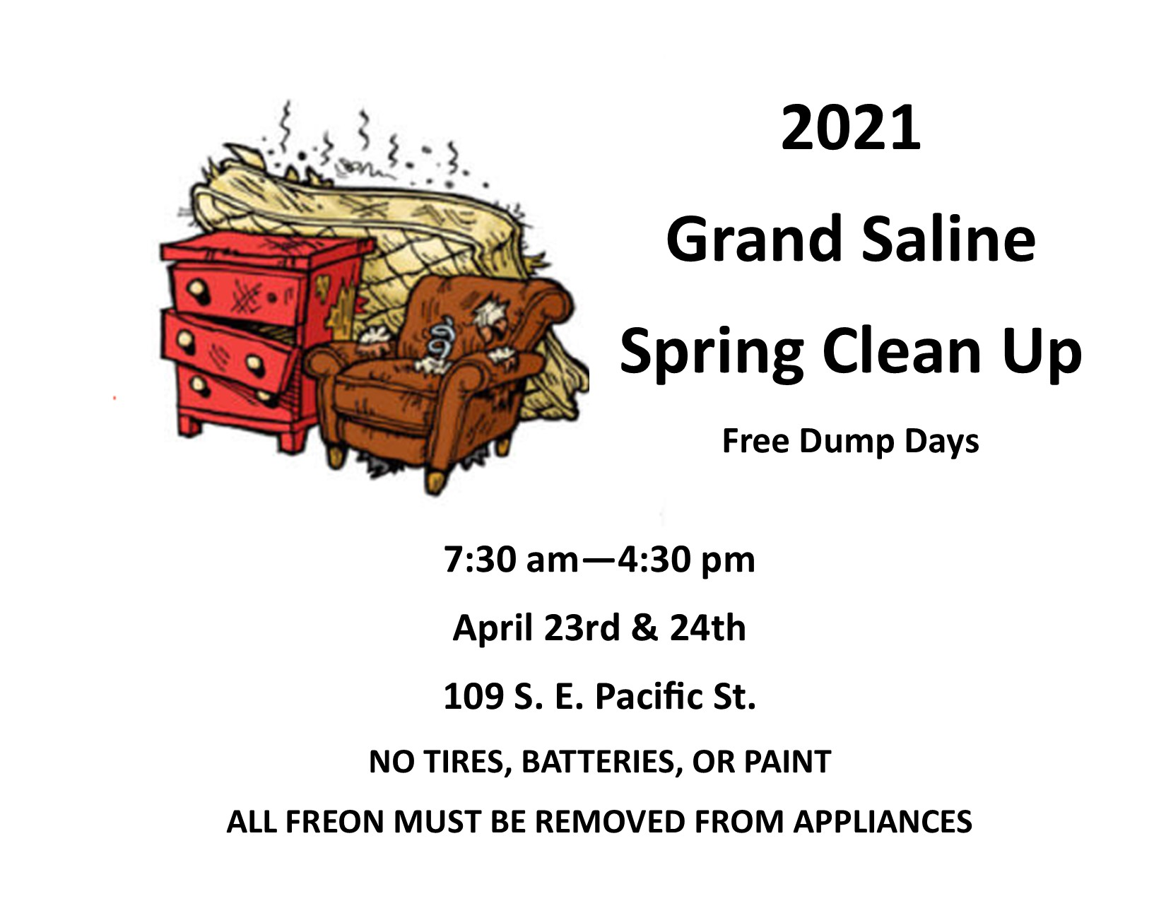 2021 SPRING CLEAN UP